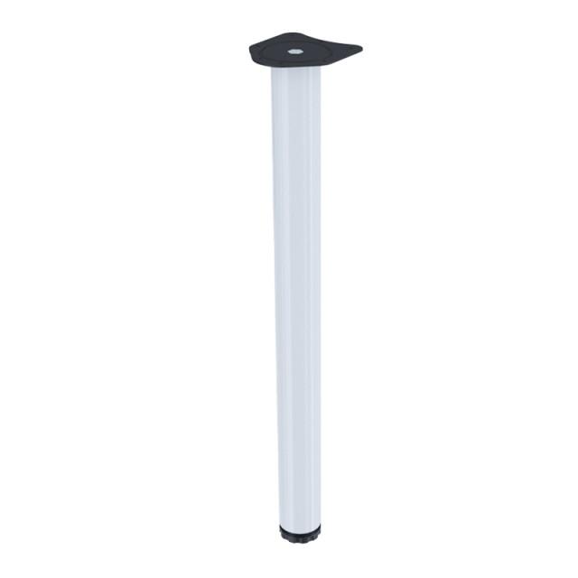 TABLE LEG KSN D.60 H.710 WHITE